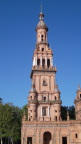 Tower at Plaza de Espana, Seville