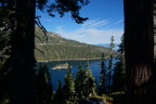 Fannette Island surmounted by the Tea House, Emerald Bay, Lake Tahoe