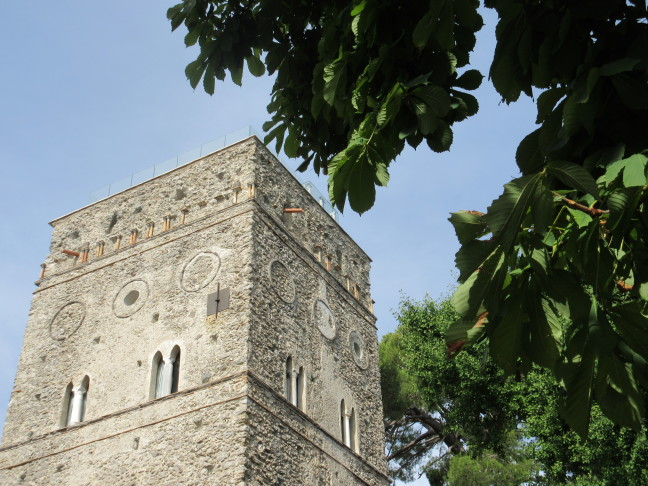 Medieval tower fortress, Ravello