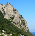 Ancient rocks - frequent landslides along Amalfi Coast