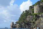 Castles along the Almafi Coast
