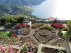Gardens under construction, hill town of Ravello