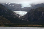 Two of the many glaciers along the Beagle Channel