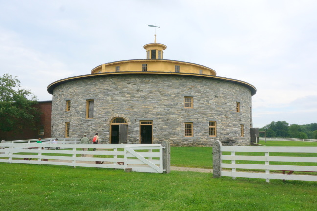 Round barn at Hancock Shaker Village, Pittsfirld, MA