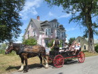 HIstoric home and carriage, Lunenberg