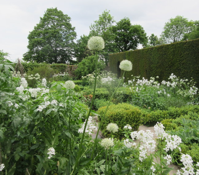 The famous white garden, Sissinghurst