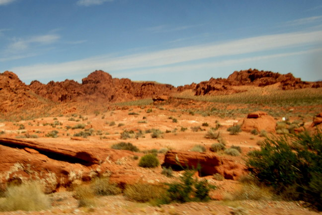 Red sandstone, Valley of Fire