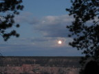 Full moon, August 2017, North Rim