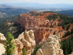 View to the south over the Grand Staircase, Bryce Canyon