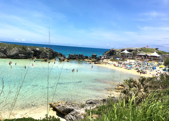 Tobacco Beach, great snorkeling